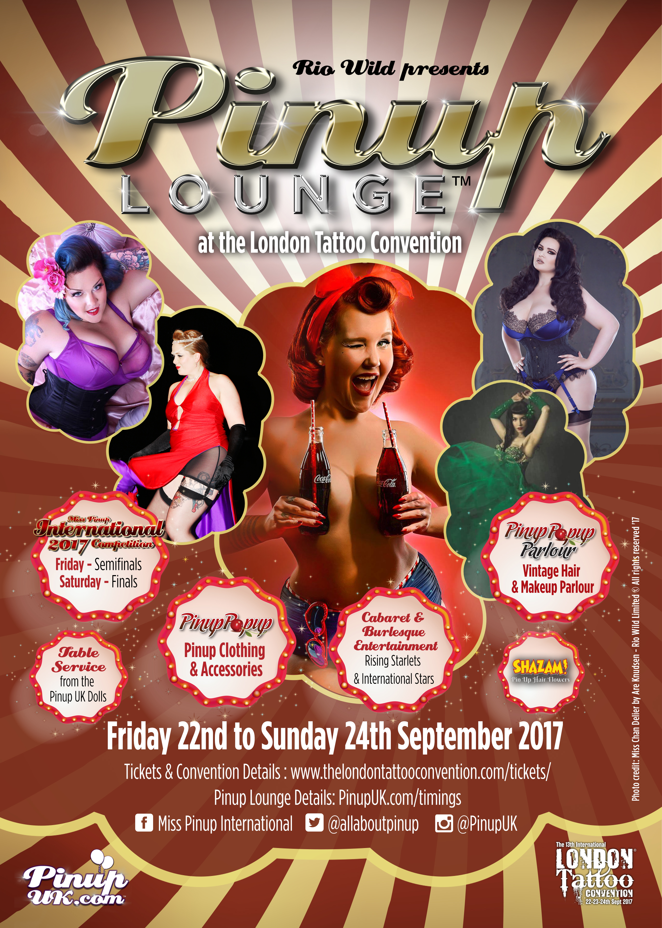 Miss Pinup International Pinup contest Pinup competition Pinup Lounge London Tattoo Convention Pinup UK AllAboutPinup Pinup Stage Pin Up